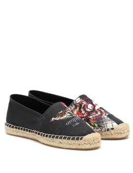 Canaee Printed Canvas Espadrilles by Isabel Marant