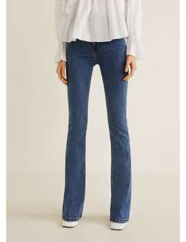 Utsvängda Jeans Flare by Mango