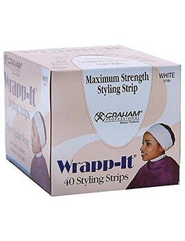 Graham Professional Beauty Wrapp It White Styling Strips by Graham Professional Beauty