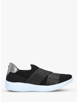 Carvela Comfort Corinne Trainers, Black by Carvela