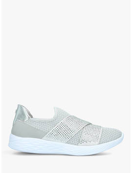 Carvela Comfort Corinne Trainers, Grey Mid by Carvela