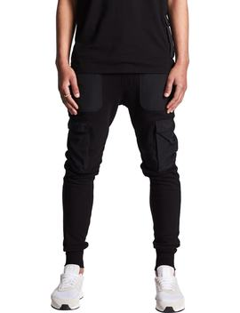 Selector Fleece Cargo Jogger Pants by Nxp