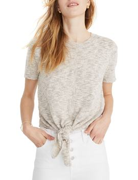 Knot Front Sweater Tee by Madewell