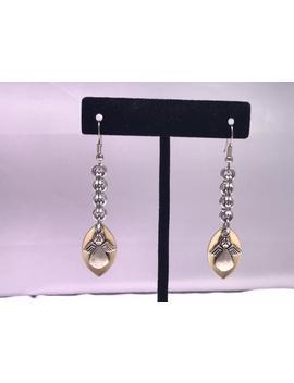 Scale Charm Earrings by Etsy