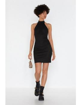 Our Confidence Never Halters Mini Dress by Nasty Gal
