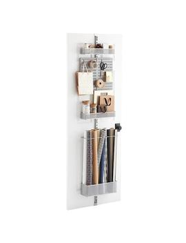 Elfa Utility Craft Room Door & Wall Rack by Container Store