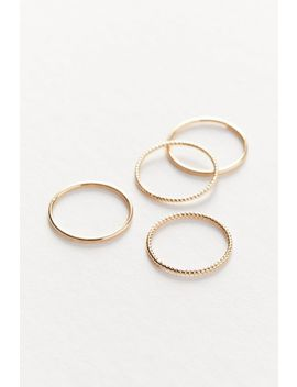 Delicate Pinky Ring Set by Urban Outfitters