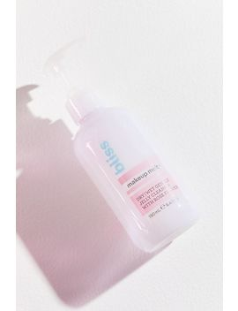 Bliss Makeup Melt Jelly Cleanser by Bliss