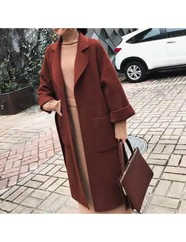 Tudol Side Opening Long Sleeves Coat by Jessica Buurman