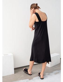 Bias Cut Midi Dress by & Other Stories