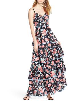 Darlene Tiered Maxi Dress by Foxiedox