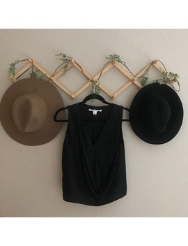 Diane Von Furstenberg Dvf Black Sleeveless Shirt 0 by Diane Von Furstenberg