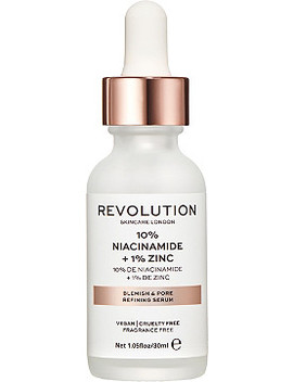 Online Only Blemish And Pore Refining Serum 10 Percents Niacinaminde + 1 Percents Zinc by Revolution Skincare