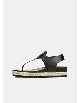 Flint Leather Sandals by Vince