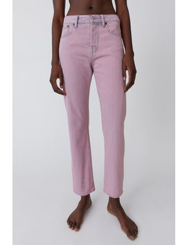 straight-fit-jeans-blue_pink by acne-studios
