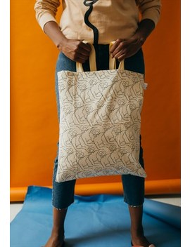Nudes Repeat Tote by Syd And Mallory
