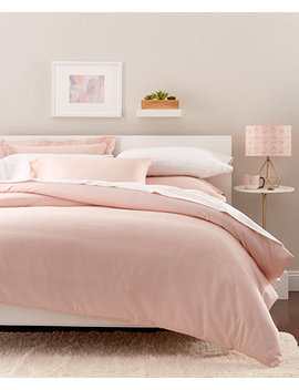 Solid Duvet Sets, 300 Thread Count Hygro Cotton, Created For Macy's by Goodful