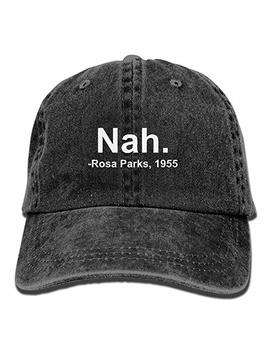 Nah. Rosa Parks, 1955 Vintage Adjustable Jeans Cap Baseball Caps Forman And Woman by Qhzm