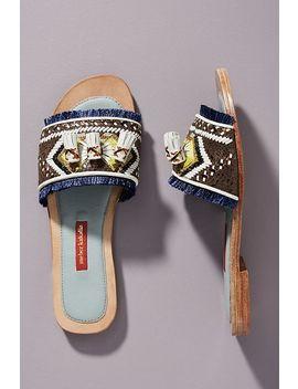 Meher Kakalia Bubulina Slide Sandals by Meher Kakalia