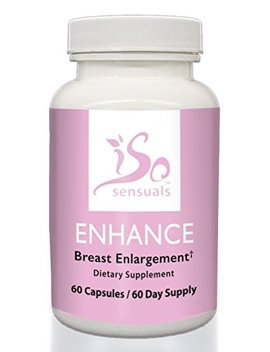 Iso Sensuals Enhance | Breast Enlargement Pills (60 Day Supply) by Iso Sensuals