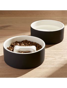 Magisso Large Dog Food And Water Bowls by Crate&Barrel