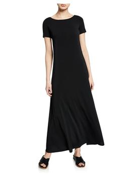 Boat Neck Short Sleeve Dress by Theory