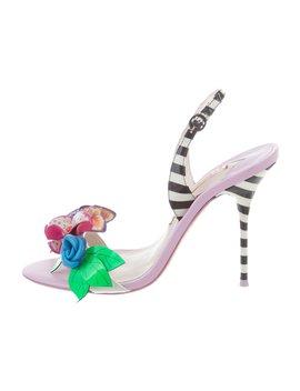 Floral Appliqué Sandals by Sophia Webster