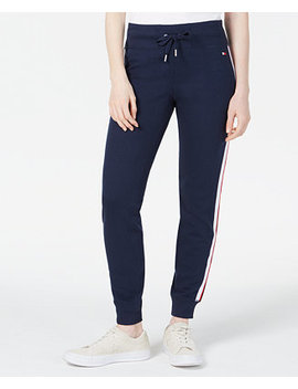 Side Striped Joggers, Created For Macy's by Tommy Hilfiger Sport