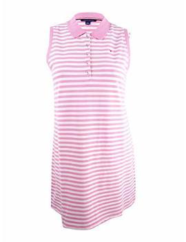 Tommy Hilfiger Women's Striped Polo Dress by Tommy Hilfiger