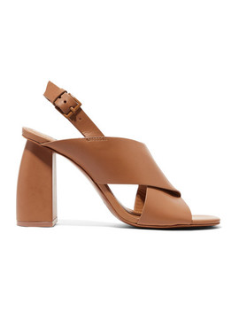 Hae Leather Slingback Sandals by Mercedes Castillo