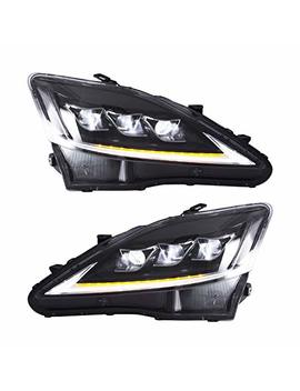 Yuanzheng Full Led Headlights For Lexus Is250 350 Isf 2006 2012 Sequential Indicator Front Light Assembly by Yuanzheng