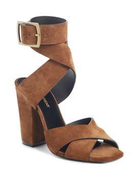 Jodie Ankle Wrap Sandal by Saint Laurent