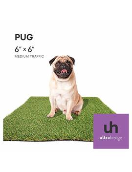 Ultra Hedge Artificial Grass For Pet Turf And Puppy Potty Training | Indoor And Outdoor Fake Grass For Different Dog Types In Customized Sizes by Ultra Hedge