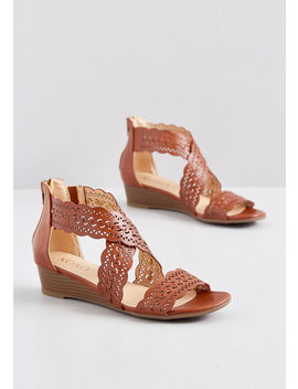Opportunity Knocks Wedge Sandal by Modcloth