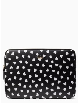 Heartbeat Universal Laptop Sleeve by Kate Spade