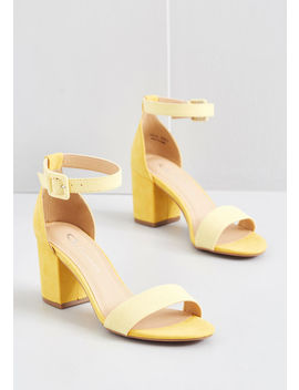 Credited Editor Block Heel by Modcloth