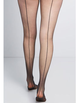Sultry At The Seams Tights by Modcloth