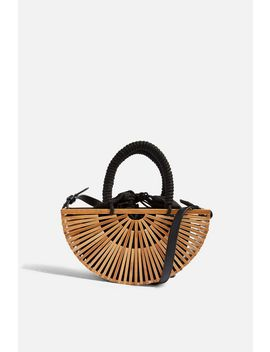 Crete Wooden Grab Bag by Topshop