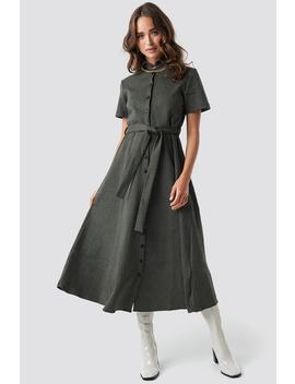 Gingham Long Dress by Trendyol