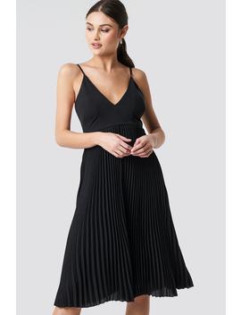 Thin Strap Deep V Neck Dress by Na Kd Party