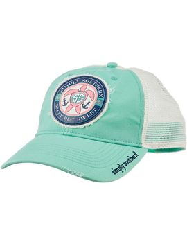 Simply Southern Women's Salty But Sweet Trucker Hat by Simply Southern