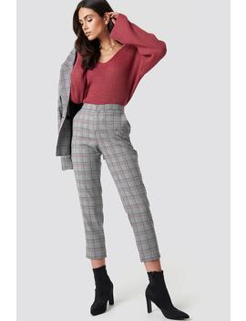 Spodnie W Kratkę by Dilara X Na Kd