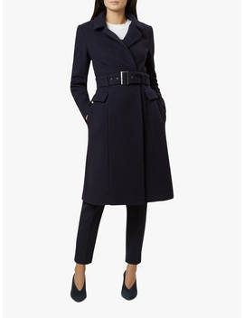 Hobbs Roselie Coat, Navy by Hobbs