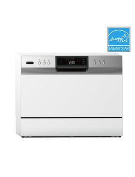 "Portable Led 22"" 54 D Ba Countertop Dishwasher by Whynter"