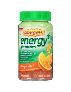 Emergen C Energy+ Gummies   Orange Zest   30ct by Emergen C