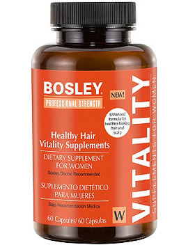 Women's Healthy Hair Vitality Supplement by Bosley
