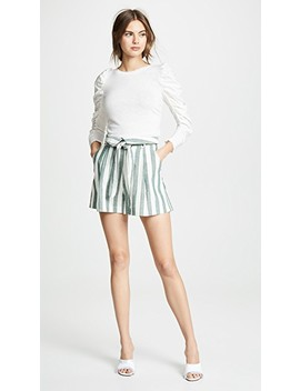 Kiara Stripe Shorts by Re:Named