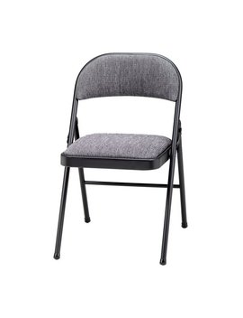 Deluxe Fabric Padded Folding Chair by Meco Corporation