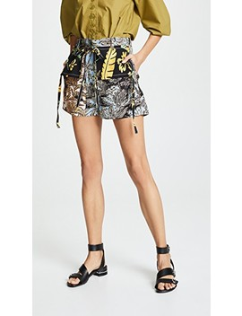 Patchwork Shorts by 3.1 Phillip Lim