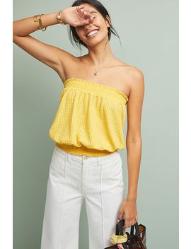Colusa Strapless Top by Anthropologie